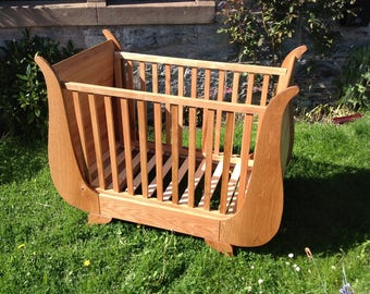 100% Solid Hardwood Cot Bed