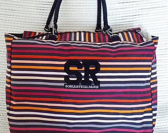 Sonia Rykiel reversible tote bag