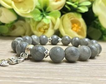 Labradorite beads women's bracelets