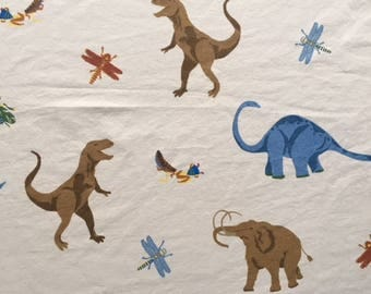 Dinosaurs fitted sheet