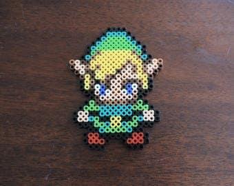 Zelda Link Perler