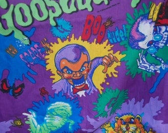 Vintage 90s Goosebumps fabric