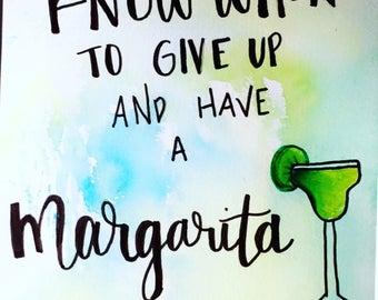 Margarita Water Color
