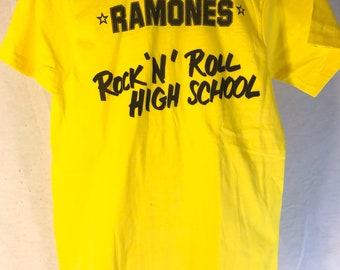 Ramones vintage tee, Rock N Roll High School, never worn, mint condition, vintage clothes, concert tee, band tee