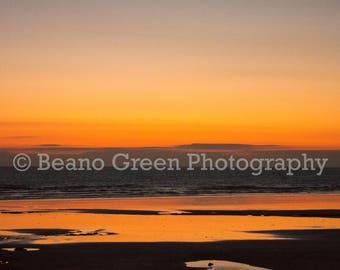 Sunset at Westward Ho!