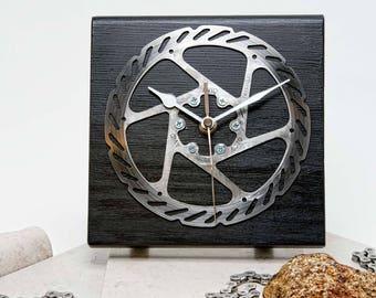 Bicycle Brake Disc Desk Clock