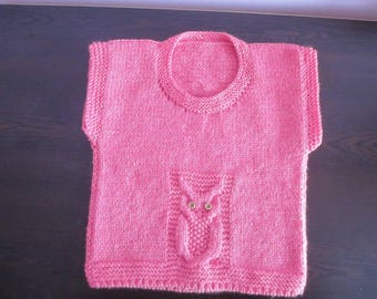 Baby vest, knitted jacket, knitted, sweater