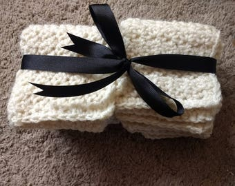 Handmade Washcloths (set of 4)