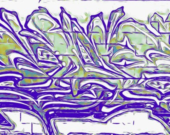 GM 17 - Streets To Canvas - Custom Graffiti Name Sign, Graffiti Art Canvas Print, Personalized Canvas Wall Art, Abstract Graffiti Canvas