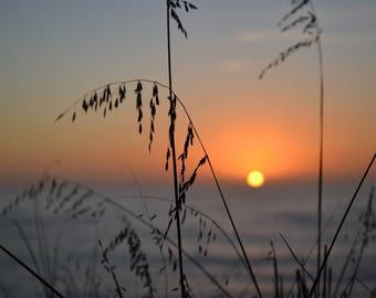 Sunset Canvas Photo