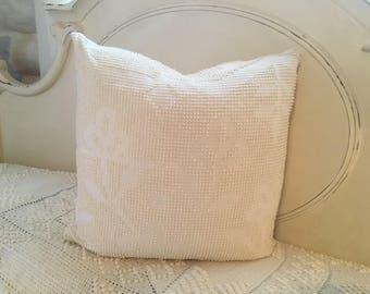 1 Chenille throw pillow