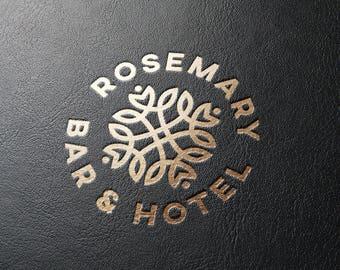Hotel Logo Design, Luxury Logo, Custom Logo Design, Royal Logo, Brand, Branding Logo Design, Gold Logo, Elegant Logo, Business Logo Design