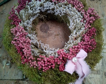 Wreath Natural Wreath Pefferbeeren Mooskranz Rustic House Vintage