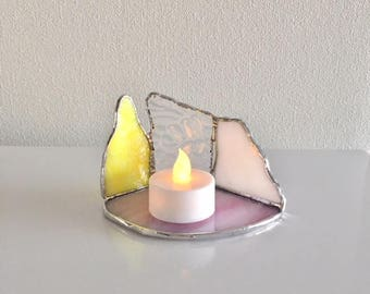 LED Candle Holder The glass Bay View