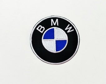 BMW Logo Embroidered Iron On Patch Car Motor
