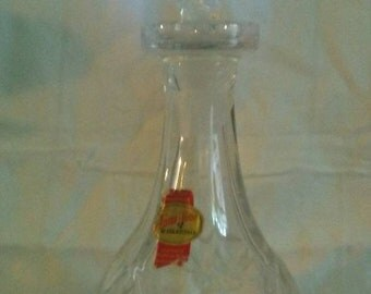 Anna Hutte Bleikristall Lead Crystal Decanter