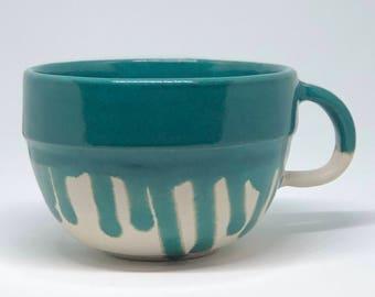 Drippy Green Tea Cup