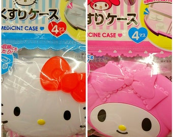 Kitty-My Melody MEDICINE case Piil Case Japan