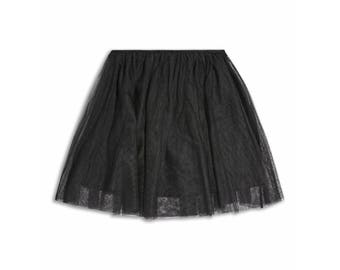 Girl Black Skirt