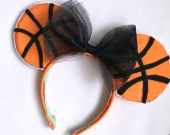 Basketball Minnie Ears