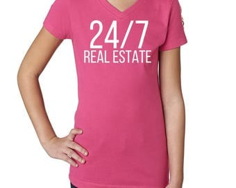 Real Estate T Shirt - 24/7