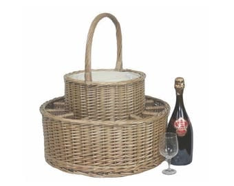 Chilled Drinks Picnic Basket