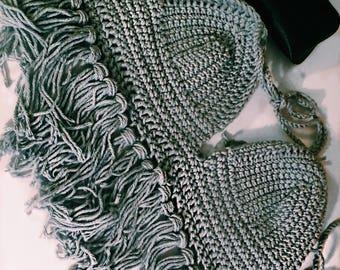 Crochet Fringed Top