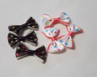6 small bows