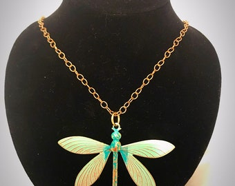 Peaceful Dragonfly Pendant