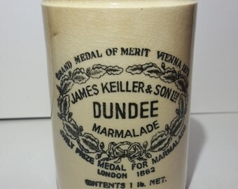 James Keiller & Son Ltd, Dundee Marmalade Jar