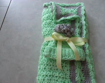 Baby Afghan with hat