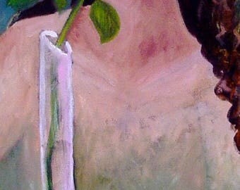 The Healing Rose - Giclee Print