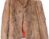 Rabbit Fur Jacket, Small Size, Wearable, Crafting