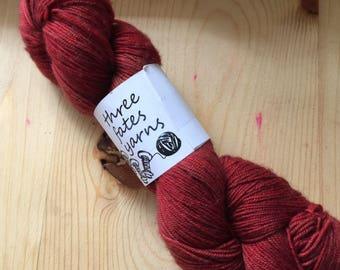 mt. st. helens - aurai fingering weight merino yak nylon sock yarn