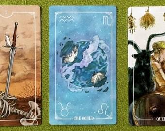 3 card reading: Basic Tarot Deck