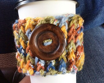 Coffee Cozy, Crochet Coffee Cozy, Tea Cozy, Coffee Craver, Coffee Lovers Gift, Starbucks Reusable Coffee Sleeve, Crochet, Cozy
