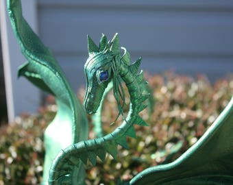 Green Leather Dragon