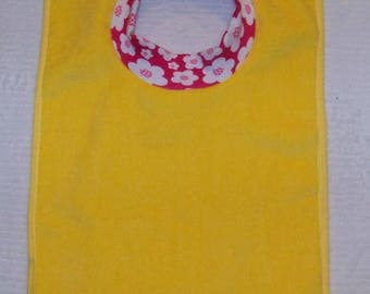 Towel Bib by PETUNIAS - absorbent washable dryable knit baby toddler gift