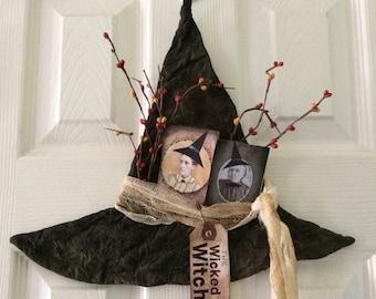 CustomerAppreciationSale Primitive Halloween Witch Hat