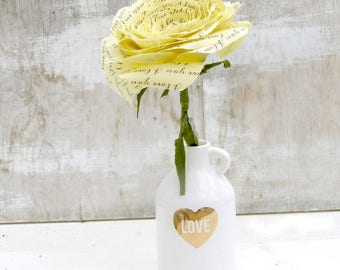 2 year anniversary Long Stem Yellow Rose Sweet engagement Anniversary Wedding Gift Check processing and delivery times