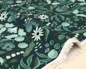 Cotton + Steel Amalfi canvas - freja turquoise - 50cm