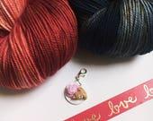 WHAT SHE'S HAVING Valentine's Set Posh Sock Merino Cashmere Nylon Handdyed Yarn