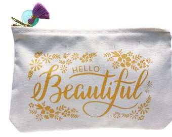 Pre-order: Hello Beautiful Pouch
