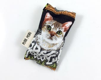 Fancy Cat Green Bean Organic Eco Friendly Catnip Cat Toy For Mew