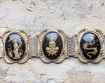 FREE SHIPPING Vintage Siam Bracelet