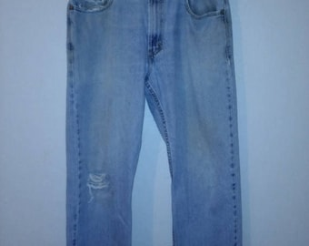 90s Levi's 505  Vintage Jeans    90's  zip festival Denim Waist W 34