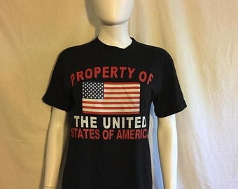 Closing Shop 40%off SALE USA flag t shirt United States of America