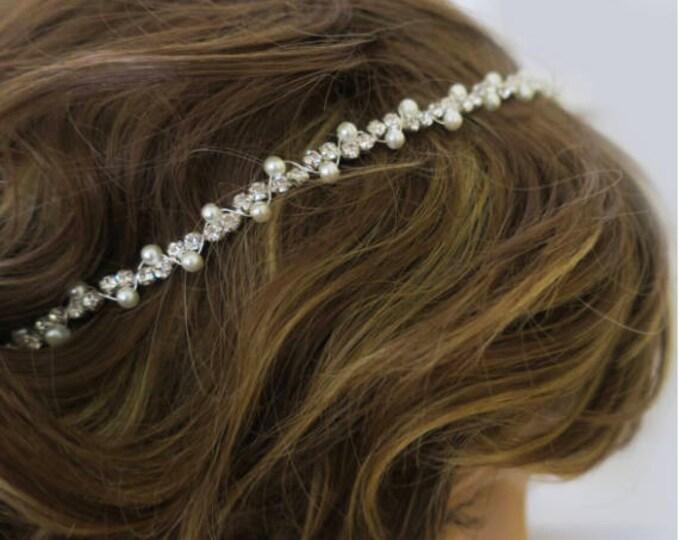 Thin Wedding Headband