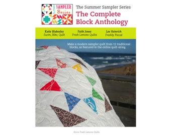 Modern Quilt Pattern - Summer Sampler Series - PDF