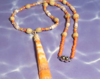 Lion's Paw Shell Necklace #3